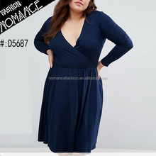 plus size fat women ladies cleavage dress clothes