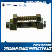 Special Purpose Applications M36 1-1/2 grade 5.8 Magni double end threaded UN hollow threaded rod with hole