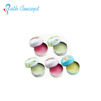 Customized 15g Metal Tin Box Lip Balm with Private Label