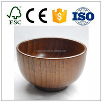 HoneyHome Handmade Jujube Solid Wood Bowl for Rice, Miso Soup, Dip, Desserts, Chips, Snacks, Cereal, Salad, Fruit, Decoration