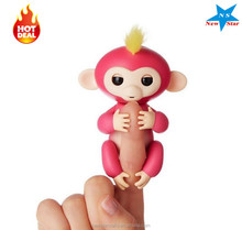 Interactive Baby Monkey Finger Puppet, Smart Baby Finger Monkey Toys Christmas Gifts