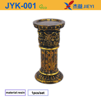 Wood wick crystal table centerpiece,ceramic candle jar wholesale