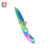Multicolor stainless steel blade reliable and durable hunting knife