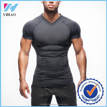 2017 New Arrival Gym Stringer T shirt Men Fitness Equipment Compression Men Dri Fit Shirts Wholesale garments