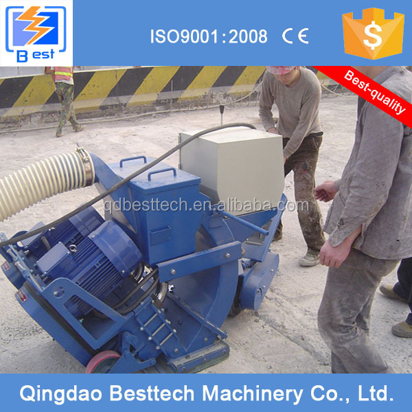 High efficiency Marble pavement floor surface shot blasting machine