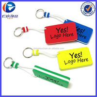 Colorful Rectangular EVA Floating Keyring