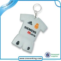 Cheap price hotselling silicone rubber pvc promotional keychain