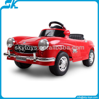 Rc ride on kids car mercedes benz licensed remote control ride on car