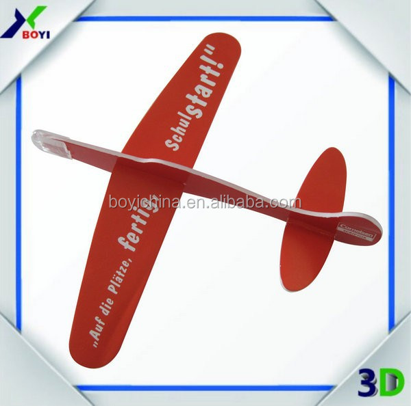 3D easy level puzzles,3D paper foam assorted airplane