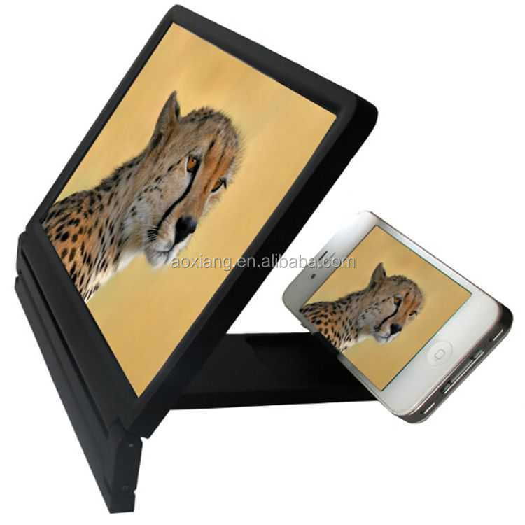 new innovative product mobile phone LCD screen magnifier, Enlarge cellphone screen Magnifier