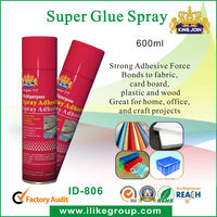 Temporary Spray Glue For Paper