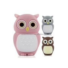 Owl Shaped PVC Cartoon USB Flash Drive , OEM Cartoon USB Flash Drives Welcome, Direct Selling USB Flash Drives from USB Factory