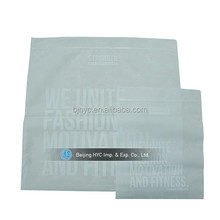 Cheap wholesale slide zip lock plastic packaging bag with handle