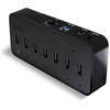 7 Port Usb Hub Aluminum Usb