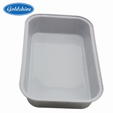 Aluminum foil container airline lids food tray