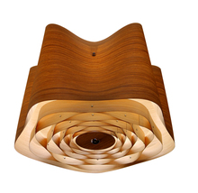 Hot selling surface home hotel modern decorative wood chandelier led ceiling light for home