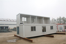 Prefab Cheap china real estate living 40ft container house