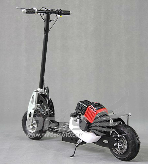 Hot Selling CE Approved Foldable Gas Scooter kick start scooter