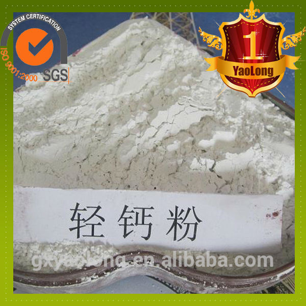supplier light/activity calcium carbonate for plastic in China