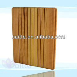hot selling bamboo case for ipad wood case with logo engraving serves for apple ipad