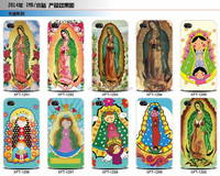 Water paste Virgencita Plis Soft TPU Case for iPhone 6 6 plus