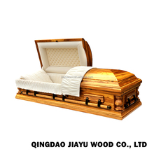 US style china casket manufacturers cheap funeral burial wooden coffin