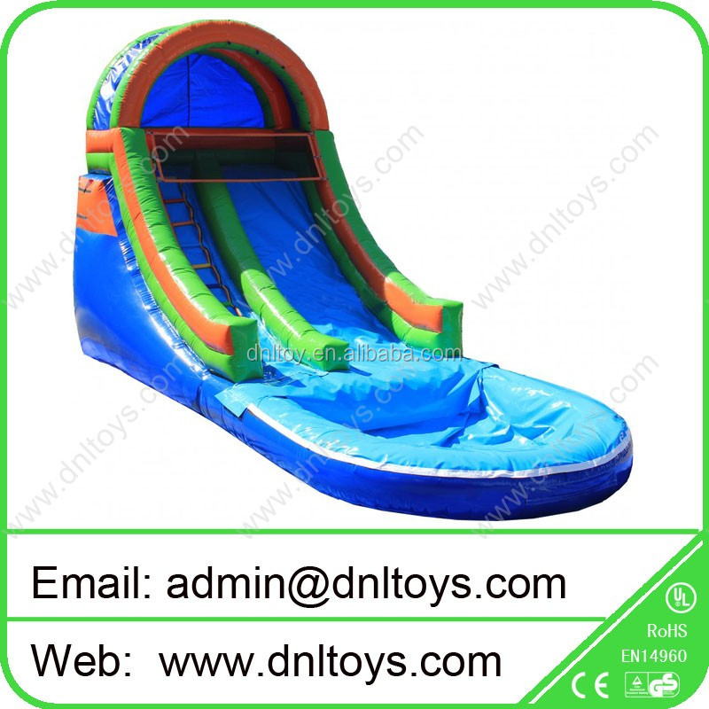 Outdoor playfrounds Climb and slip Inflatable Water Slide