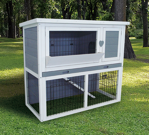 Hot-sale wooden commercial rabbit cages