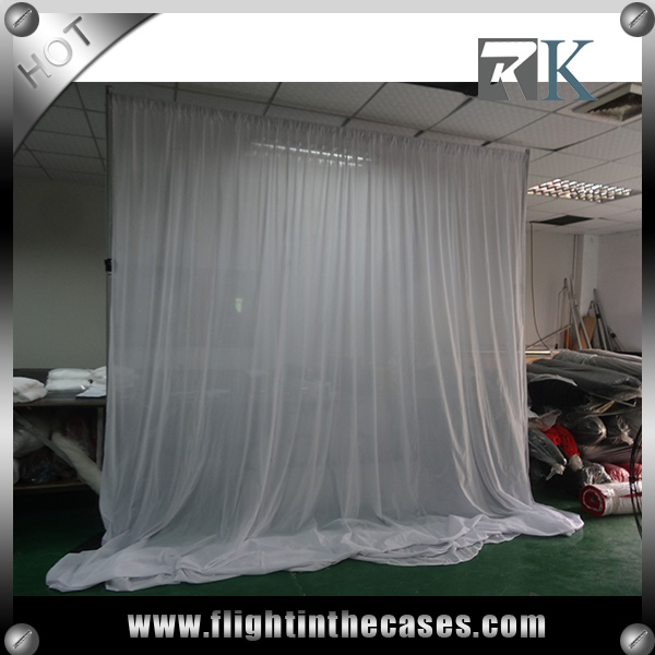 wedding pipe and drape power coated anti corrosive pipe and drap
