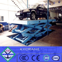 Heavy duty 3 ton hydraulic scissor lift/car lifter with best price