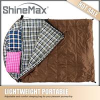 Warm Weather Double Capacity Rectangular Sleeping Bag