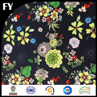 Latest Design Printed Women Clothing Polyester Fabric
