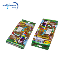Custom Coloured Pencil Crayons Cardboard Paper Gift Boxes