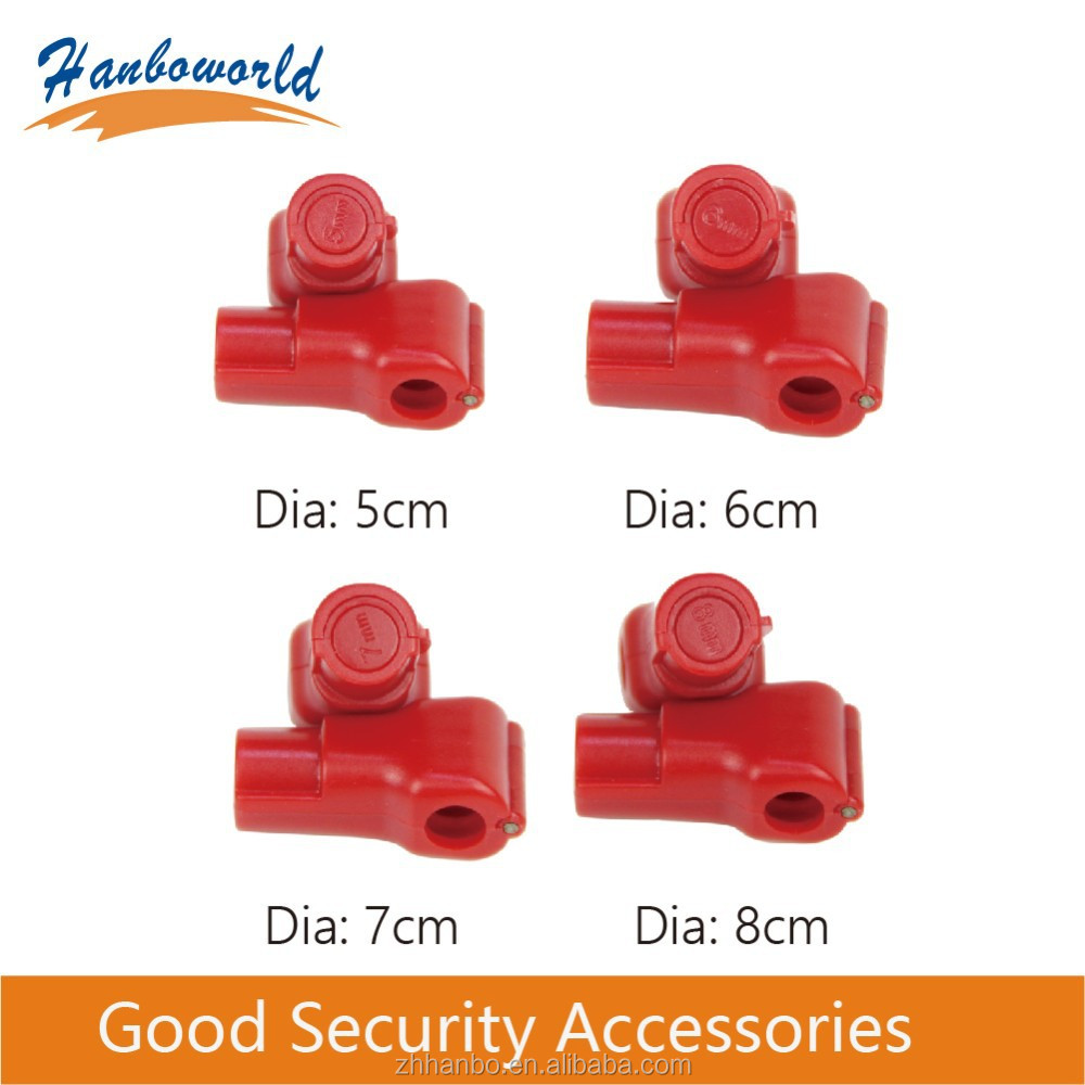 EAS Security display ABS hook stop lock,stop lock for the stem hooks