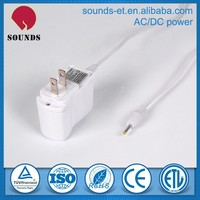 Good traveling 1A power adapter with high efficiency