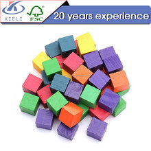 XL308 Popular among childen DIY wooden blocks toys wooden blocks for kids lifting