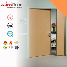 ASICO Solid Wooden Fire Rated Hospital Room Door With BM TRADA