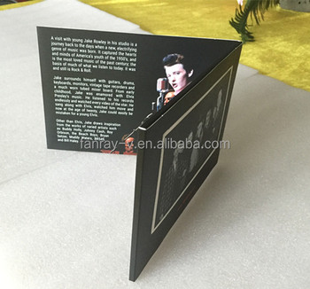 5inch video card for business promotion or wedding gift