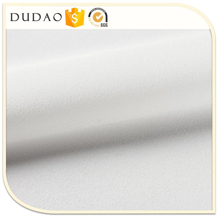 2017 New Fashion Design Women Cloth Fabric crystal pleated chiffon fabric