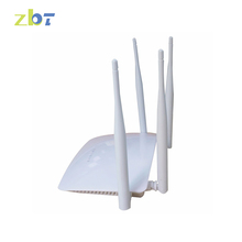 original ZBT 300Mbps 5 ports fiber optical in-wall 192.168.1.1 wireless router