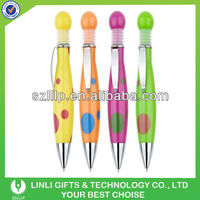 Novelty Design Customised Logo Plastic Promotional Pen