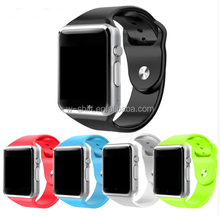 wholesale A1 bluetooth smart watch for android phone support SIM/SD card men women sport Silicone strap pk DZ09 GT08