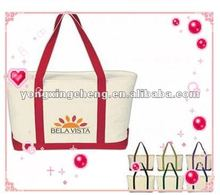 2012 cheap organic nature cotton canvas shopping tote bag