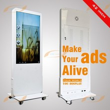 42inch indoor touch screen kiosk fast food kiosk with custom color