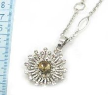 Pretty Alloy Pendants,daisy pendants