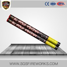 Wholesale Liuyang super pyro 1.8 inch 8 balls thunder roman candles fireworks