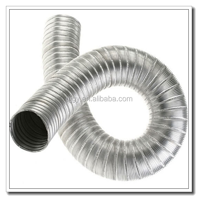 Extendible air conditioner hose duct made in china
