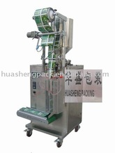 Vertical form fill seal machine for liquid