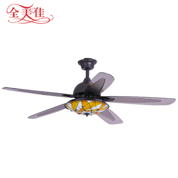 OEM high quality european style 56 inch 5 blades 220 volt big ceiling fan with high rpm