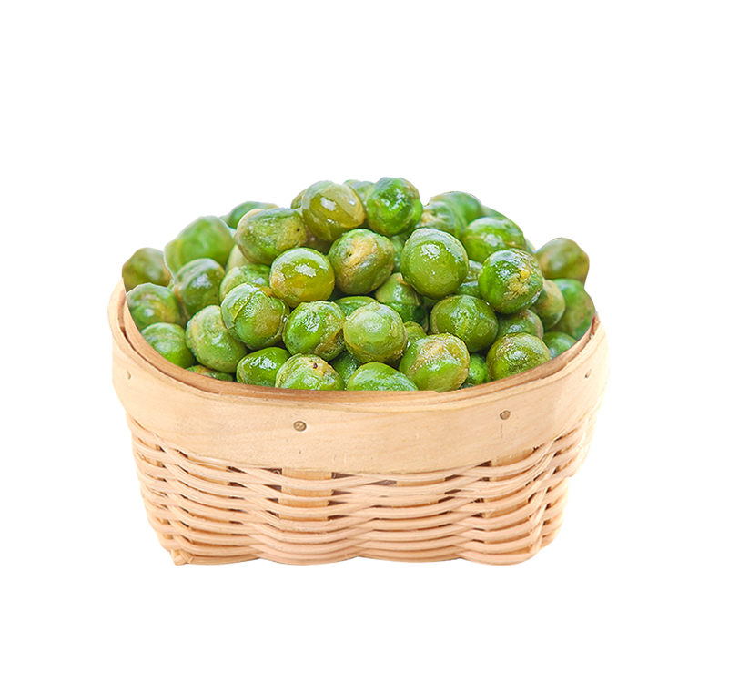 Chinese famous snack food Ganyuan brand crab flavor green peas